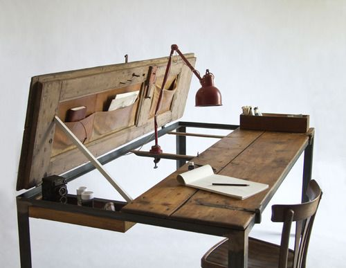 What my husband's desk will look like.