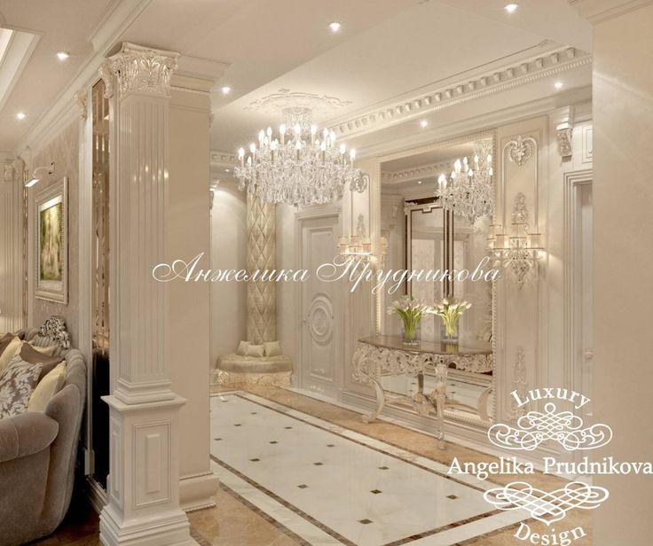 Дизайн интерьера апартаментов в классическом стиле в Барселоне - фото