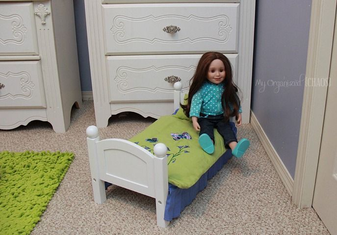 Maplelea-Girls-Doll-Bed-and-bedding-review