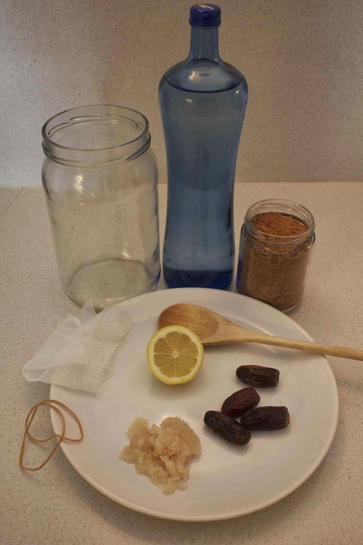 Hace ya unas semanas tuve la suerte de que una amiga de facebook, Sheila, me regalara nódulos de kéfir de agua.     Nódulos de kéfir    Hací...