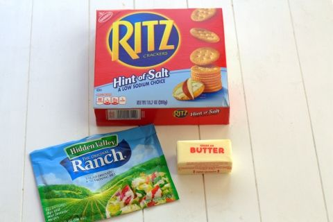 Ranch RITZ Crackers Ingredients