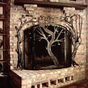Custom Fireplace Doors & Screens, Fireplace Set Accessories ...