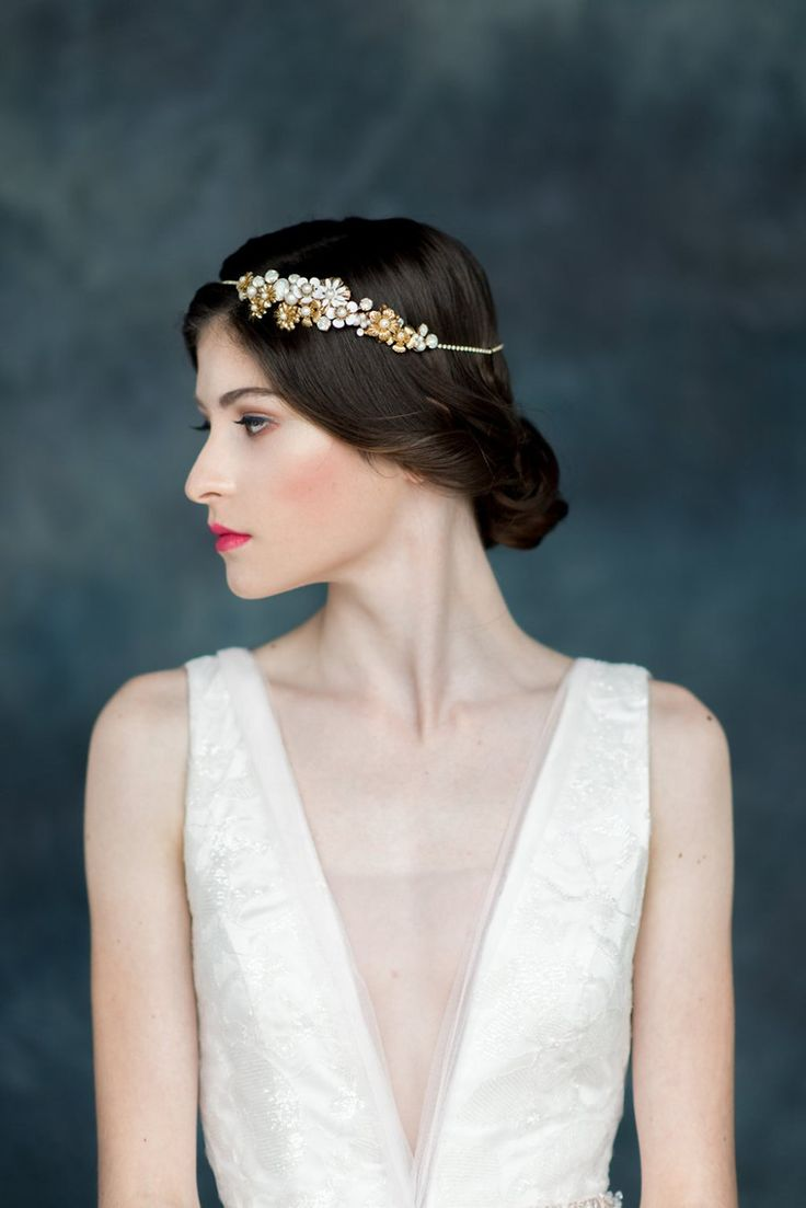 Swoon over jannie baltzer s wild nature bridal headpiece collection -  Celestial Wanderer The Breathtaking 2017 Collection Of Bridal Adornments By Blair Nadeau