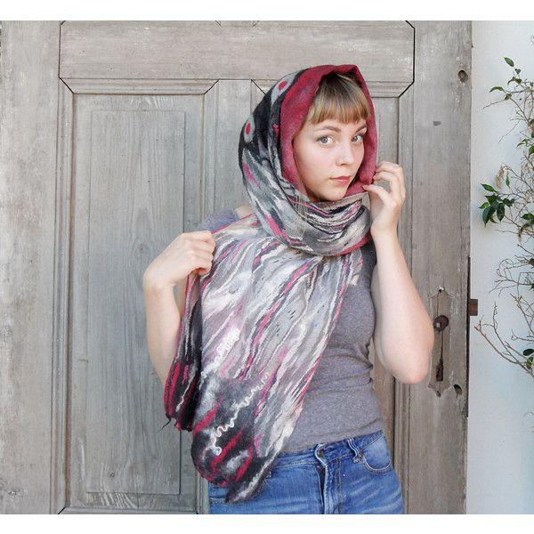 Oversized Merino Wool Scarf - Patricia Merino Wool by VIDA VIDA FSj0mbI