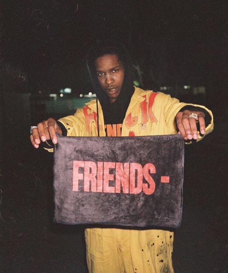 ASAP Rocky x Vlone x Friends x ASAP Mob
