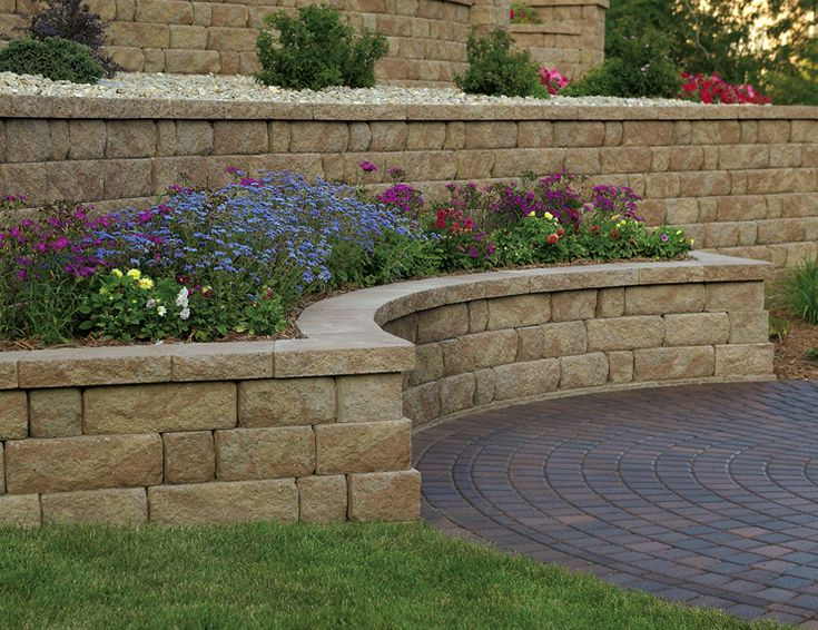 714 Best Images About Retaining Wall Ideas On Pinterest
