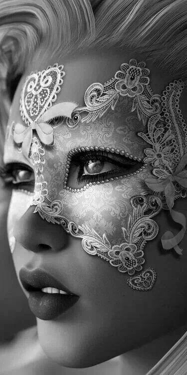 Masquerade | look at that lace pattern and the form! Stunning