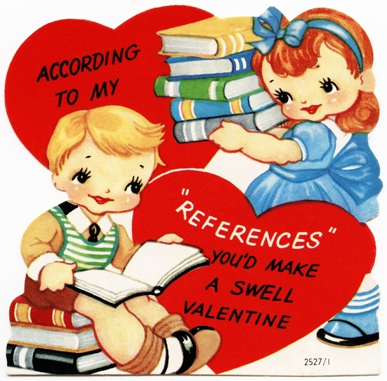 8 best Valentines for Book Lovers images on Pinterest  Old cards