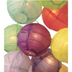 how to make round paper lanterns - Google Search