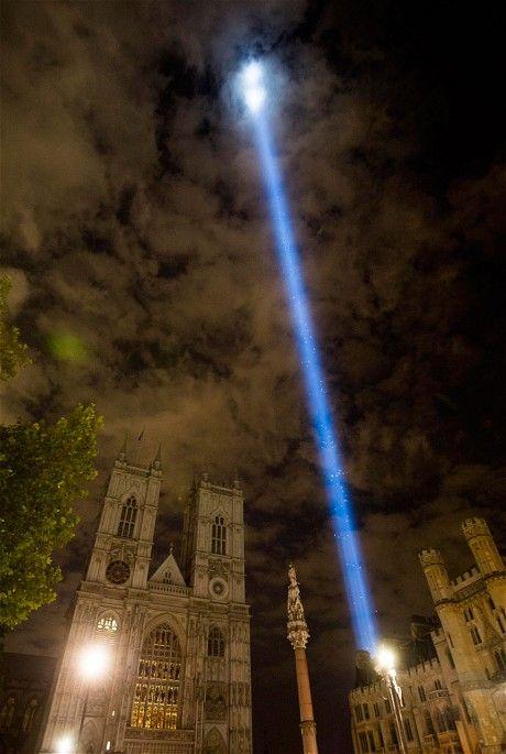 ArtAngel spectra: London's centenary beam of light - Telegraph