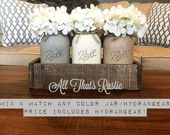 Reclaimed Wood Planter Box Rustic Wedding by AllThatsRustic                                                                                                                                                                                 More