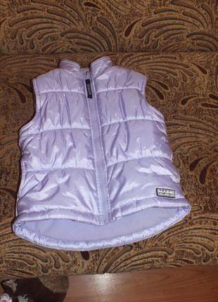 Kup mój przedmiot na #vintedpl http://www.vinted.pl/odziez-dziecieca/dziewczynki-swetry-i-bluzy/11745944-fioletowa-kamizelka-ocieplana