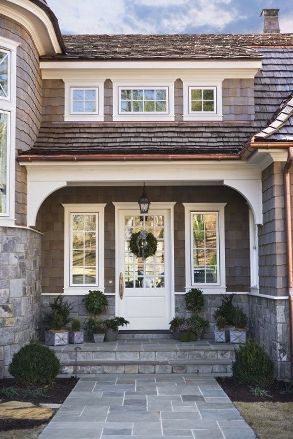 30 вдохновляющих идей для парадного входа - Сундук идей для вашего дома - интерьеры, дома, дизайнерские вещи для дома
