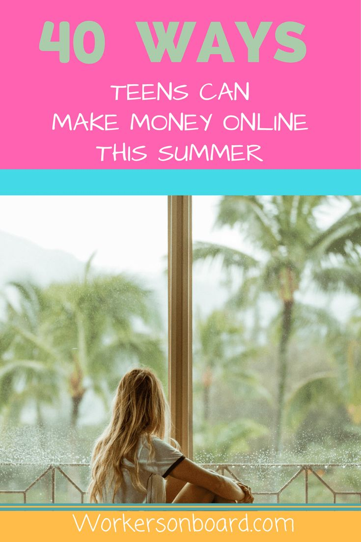 Are you out of school, a teenager or looking for some extra cash?  Check out some of these ideas to help you earn money online this summer http://www.workersonboard.com/2017/06/03/40-ways-teens-can-make-money-online-summer/