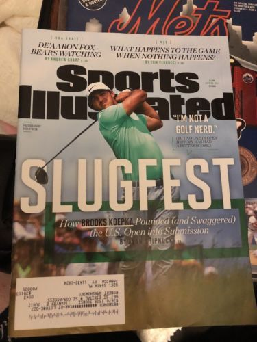 SI SPORTS ILLUSTRATED June 26, 2017 BROOKS KOEPKA U.S.OPEN De'Aaron Fox NBA NEW