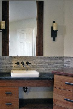 Live Edge And Mirror | Live Edge Fine Woodworking Craftsman Mirrors