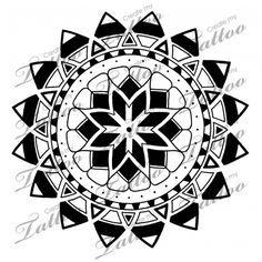 Marketplace Tattoo Polynesian sun/stars tattoo #5206 | CreateMyTattoo.com