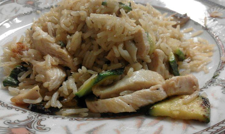 Pronti a deliziarvi? :D ;) (Riso Basmati Wok con Pollo e Verdure)