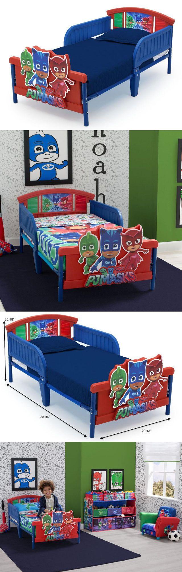 Other Nursery Bedding 20421: Pj Masks Toddler Bed Delta Furniture Junior Cot 3D Crib Size Girls Boys -> BUY IT NOW ONLY: $109 on eBay!