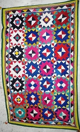 patchwork ralli quilt