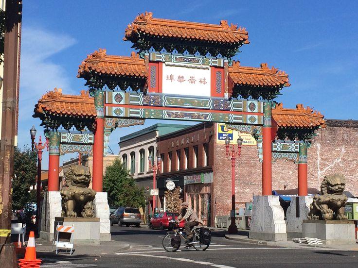 Gate to Chinatown Portland © Sarah Murphy