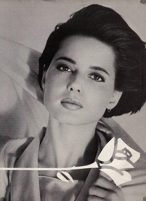 Half Italian - half Swedish, Isabella Rossellini.  I dare you to find a flaw...