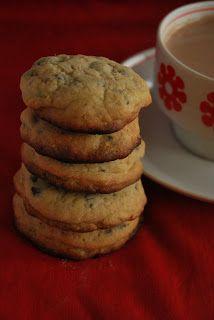 Mandy kertje és konyhája: Mogyoróvajas csokis keksz