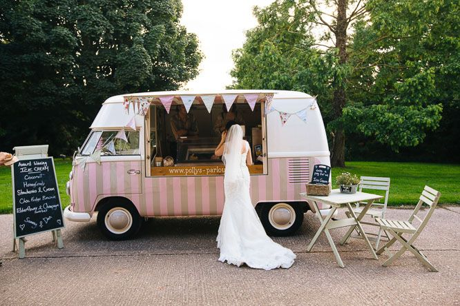 Vintage Ice cream van hire & wedding hire http://www.pollys-parlour.co.uk/