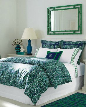 Lilly Pulitzer Thrill of the Chase Comforter Cover contemporary duvet covers