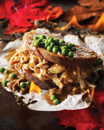 81 best sandwiches sausage images on pinterest for Leftover shredded turkey sandwiches