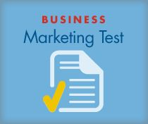 Are you doing the right marketing activities for your business? Take my Marketing test to see how you are doing.
