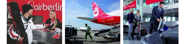Air Berlin -> ultime novità della compagnia aerea tedesca e tutte le info sui bagagli a mano e da stiva