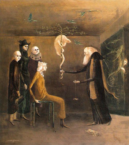 """Syssigy"" 1957, Leonora Carrington"