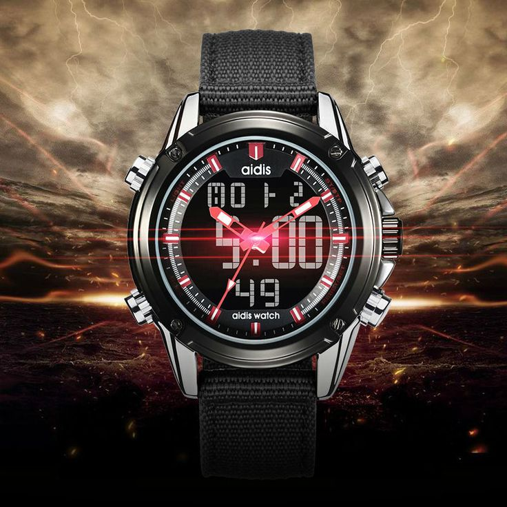Waterproof Digital Watch Sport Military  Men's Casual Quartz Dual Display Wristwatches Alarm Clock Reloj Hombre Electronic Watch