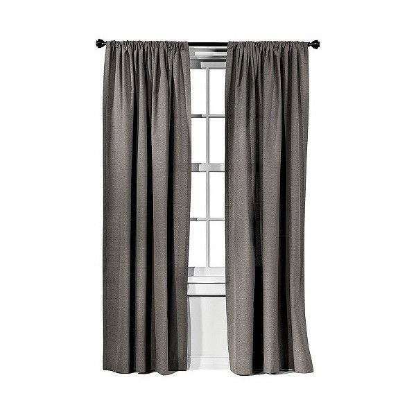 Target Home™ Faux Silk Window Panel Purchased Panels For Window. Target  Curtains ...