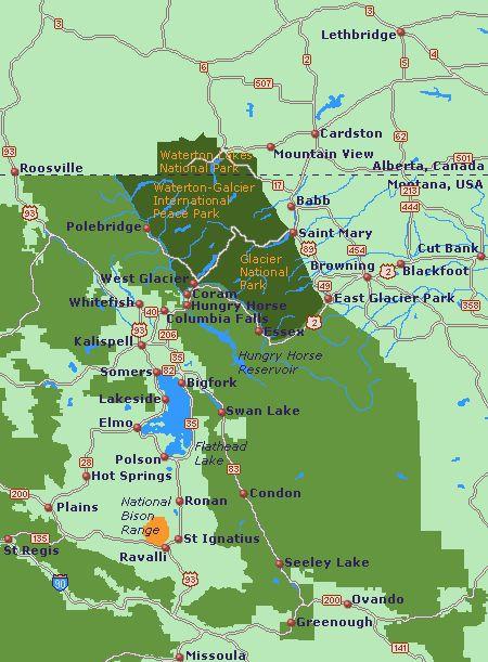 Best Glacier National Park Images On Pinterest Glacier Park - Map of all national parks us and canada