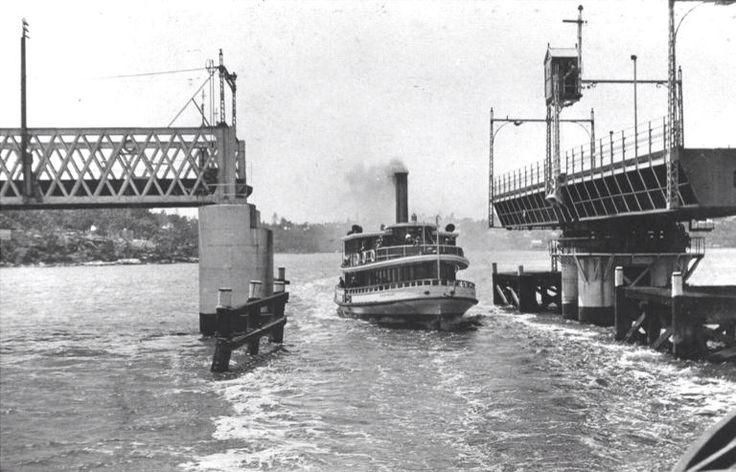 Karingal passing through Gladesville Bridge.