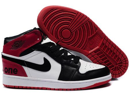 Air Jordans 1 White Black Red Sale, high quality and cheap price, more than