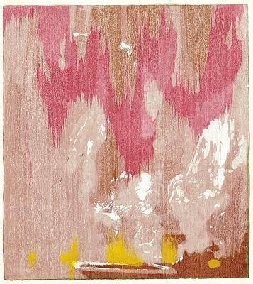 Helen Frankenthaler  Tales of Genji IV, 1998  CollageColors Combos, Art Blog, Pastel Pink, Colors Palettes, Master Bedrooms, Colors Schemes, Art I Like, Bedrooms Art, Helen Frankenthaler