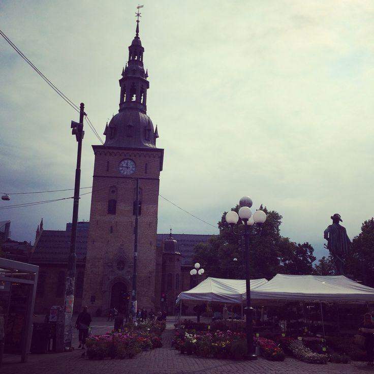 Oslo domkirke. Oslo, capitol of Norway.