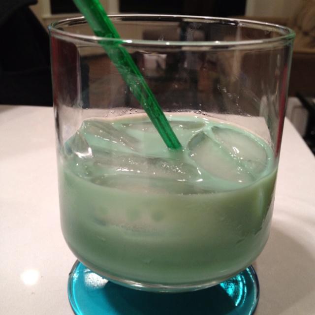 St. Patrick's Day Drink  2 oz Baileys  2 oz Creme de Menthe 1 oz Kahlua   Cheers!!!