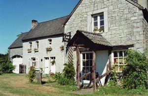 L'anciennne forge (rue Albert Bailly, 42) à Porcheresse-en-Condroz (n'est plus un gîte rural).