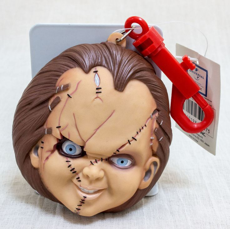 Bride of Chucky Face type Mini Bag Pouch Dream Rush JAPAN MOVIE CHILD'S PLAY