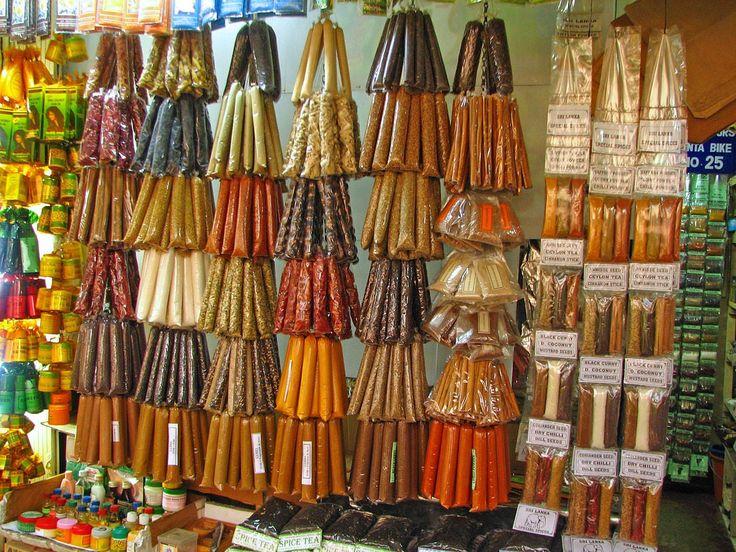 Na trhu s kořením