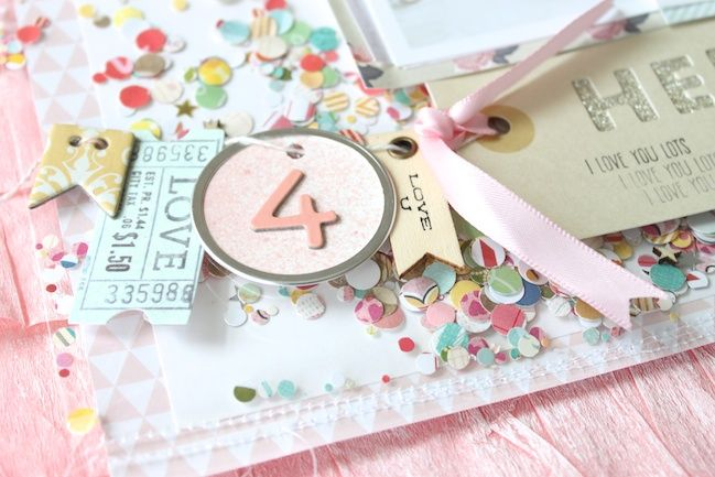 Confetti Pockets:: A Scrapbook Tutorial by Stephanie Bryan - pretty paper. true stories. {and scrapbooking classes with cupcakes.}