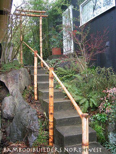 Banboo Shrine Entrance For Tea Gardn Bamboo Fencing Ideas Bamboo