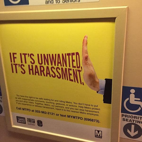 Image result for sexual harassment psa