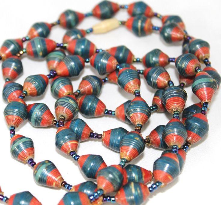 Afrikaanse kralen ketting voor €9,95 Bestel hem online bij www.Good2get.nl