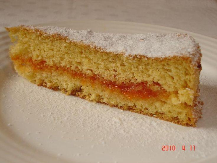Rizslisztes piskóta tortalap
