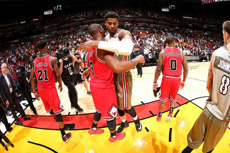 Hassan Whiteside: 'It'd Be Great' to Play With Dwyane Wade Again